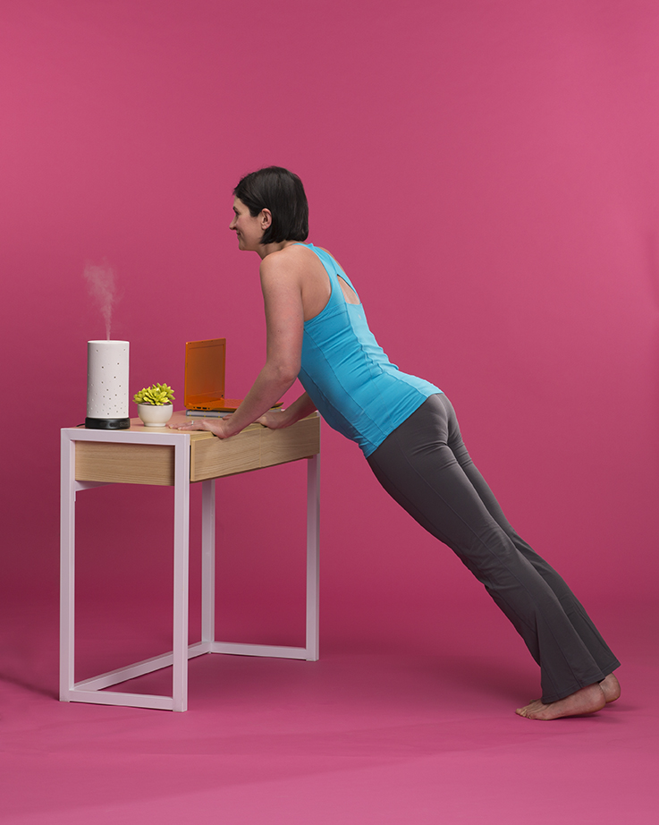 Yoga Poses You Can Do At Your Desk | Scentsy Blog