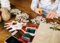 Photo of making christmas crafts