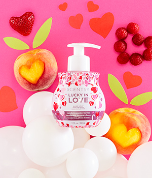 Lucky in Love hand soap