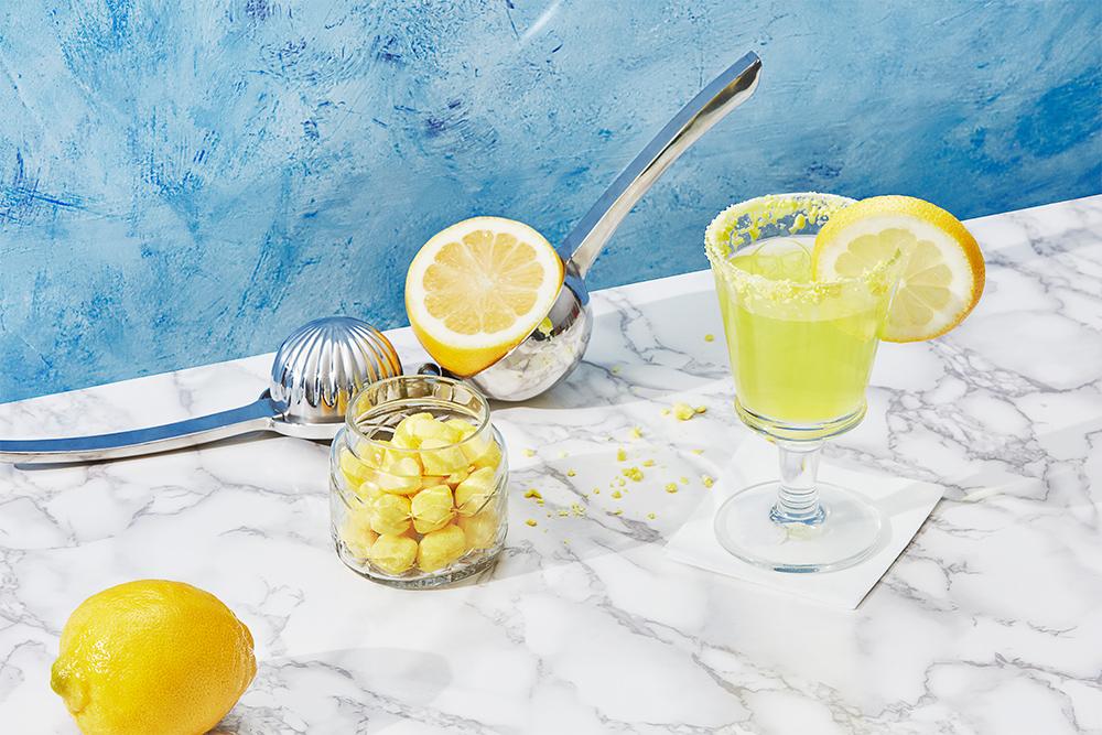 photo of lemon drop drink