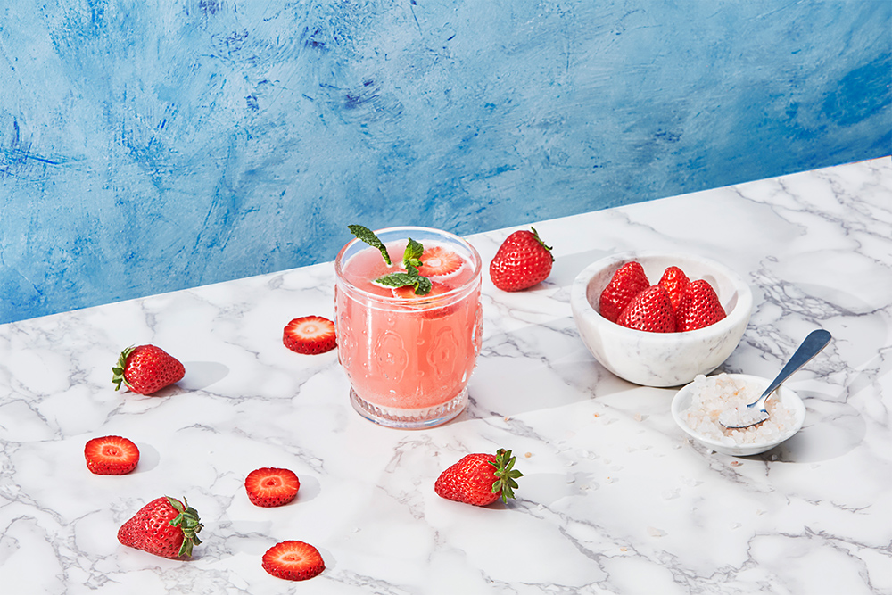 Photo of strawberry cosmo