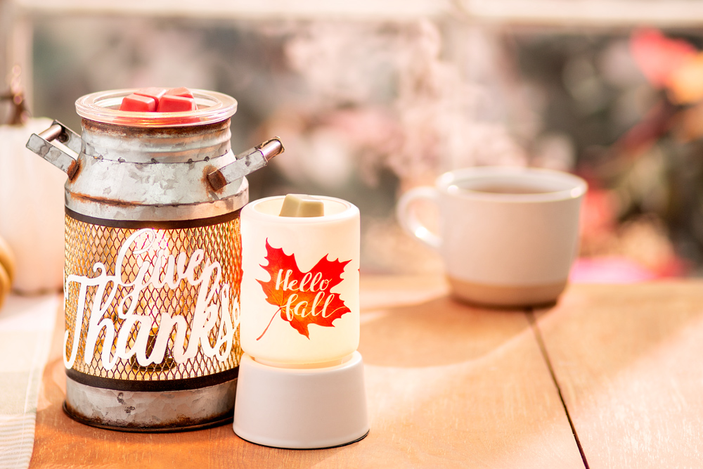 Photo of Scenty's harvest give thanks warmer and hello fall warmer