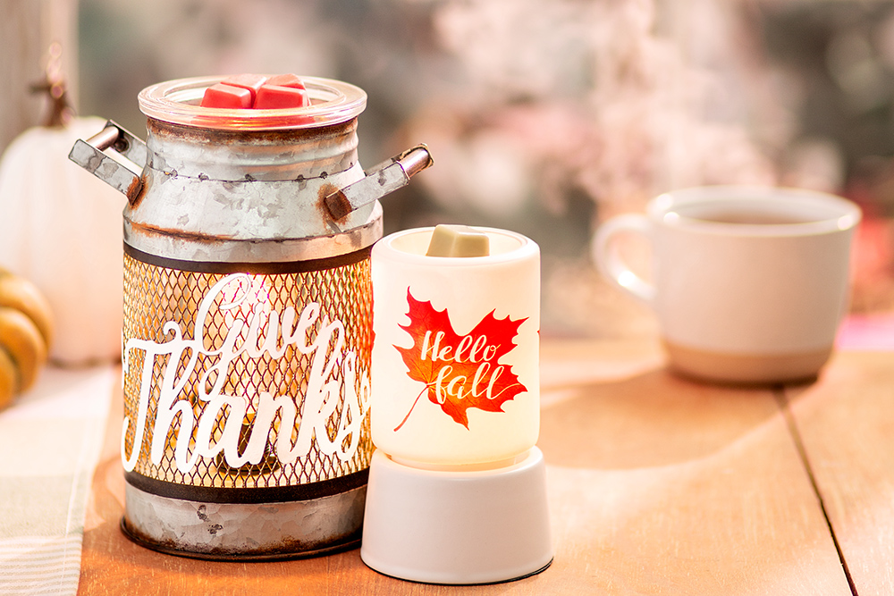 Photo of give thanks and hello fall warmers