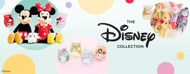 Photo collage of Disney Collection